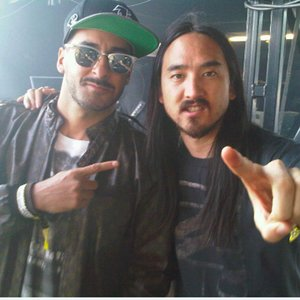 Image for 'Armand Van Helden & Steve Aoki'