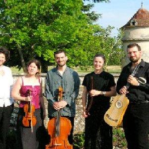 Image for 'Ensemble Almageste, Hélène Houzel , Sébastien d'Hérin, Frédéric Baldassare, Jérémie Papasergio'