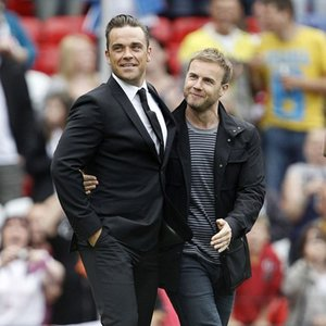Immagine per 'Robbie Williams and Gary Barlow'
