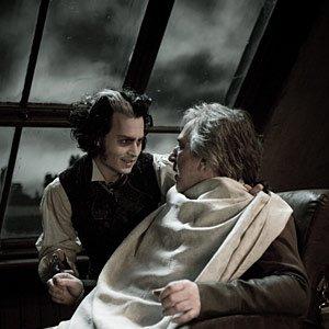 Image for 'Alan Rickman and Johnny Depp'