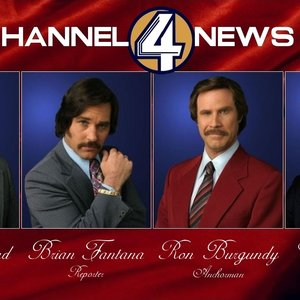 Image pour 'Will Ferrell & The Channel 4 News Team'