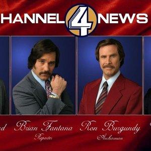 Bild für 'Will Ferrell & The Channel 4 News Team'