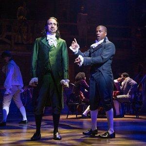 Image for 'Leslie Odom, Jr., Lin-Manuel Miranda & Original Broadway Cast of Hamilton'