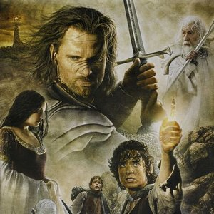 Immagine per 'Elijah Wood; Ian McKellen; Viggo Mortensen; Sean Astin; Orlando Bloom'