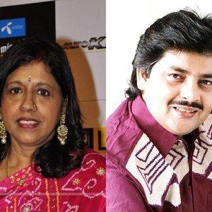 Image for 'Udit Narayan & Kavita Krishnamurti'