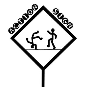 Image for 'ACTION SIGN'