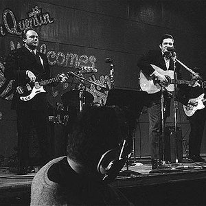 Imagem de 'Johnny Cash with Marshall Grant and The Carter Family'
