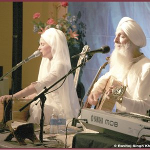 Image pour 'Guruganesha Singh & Snatam Kaur'