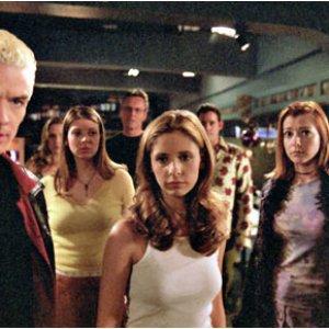Bild für 'Buffy, Spike, Sweet, Giles, Xander, Anya, Tara & Willow'