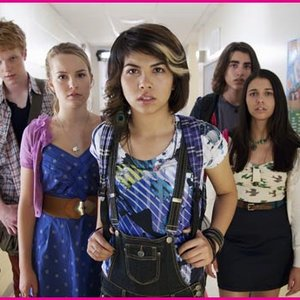 Image for 'Adam Hicks, Bridgit Mendler, Naomi Scott & Hayley Kiyoko'