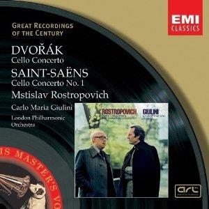 Image for 'Mstislav Rostropovich/London Philharmonic Orchestra/Carlo Maria Giulini'