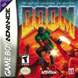 Imagen de 'GBA Doom'