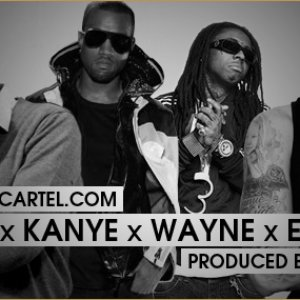 Image for 'Drake Feat. Lil Wayne, Kanye West & Eminem'