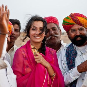 Image for 'Shri, Rajasthan Roots and Monica Dogra'