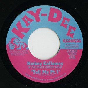 Bild für 'Rickey Calloway & The Crack Mirrow Band'
