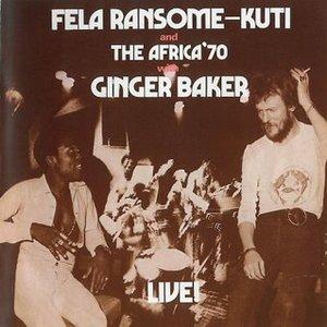 Image for 'Fela Kuti, Africa 70 & Ginger Baker'