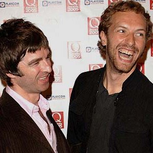 Image for 'Chris Martin and Noel Gallagher'