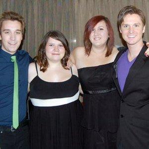 Image for 'Andrew Sims, Laura Thompson, Matt Britton, and Elysa Montfort'