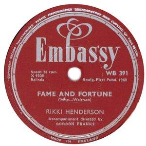 Image for 'Rikki Henderson'