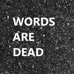 Image for 'Words Are Dead'