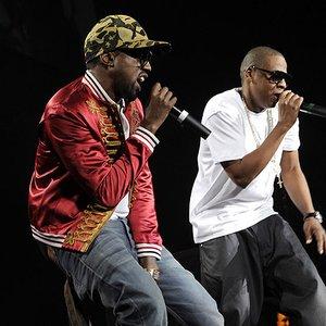 Imagem de 'Jay-Z feat. Kanye West & Raje Shwari'