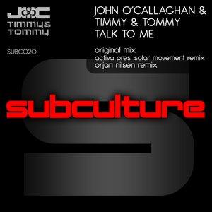 """John O'Callaghan & Timmy & Tommy""的封面"