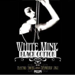 Imagen de 'White Mink black cotton'