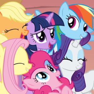 Imagen de 'Twilight Sparkle, Pinkie Pie, Fluttershy, Applejack, Rarity & Rainbow Dash'