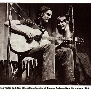 Image for 'Joni Mitchell & James Taylor'