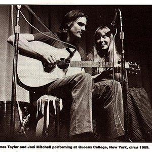 """""""Joni Mitchell & James Taylor""""的封面"""