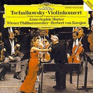 Image for 'Anne-Sophie Mutter; Herbert Von Karajan: Vienna Philharmonic Orchestra'