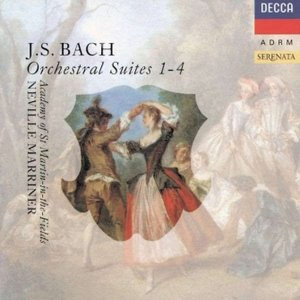 Image pour 'Bach (Neville Marriner)'