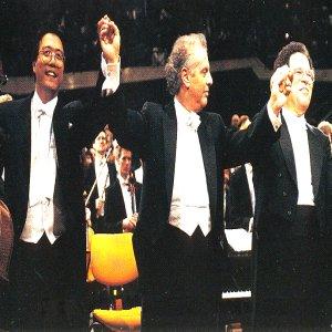 Image for 'Itzhak Perlman, Yo-Yo Ma, Daniel Barenboim, Berliner Philharmoniker'