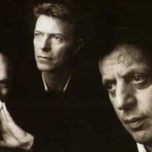 Image for 'Philip Glass, David Bowie & Brian Eno'