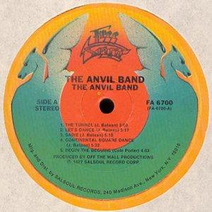 Image for 'The Anvil Band'