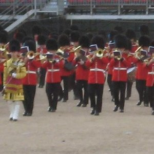 Bild für 'The Band of the Irish Guards'