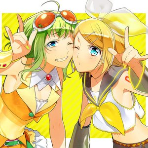 Image for 'GUMI, 鏡音リン'