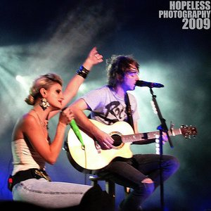 Image for 'Alex Gaskarth, Juliet Sims, 3OH!3'