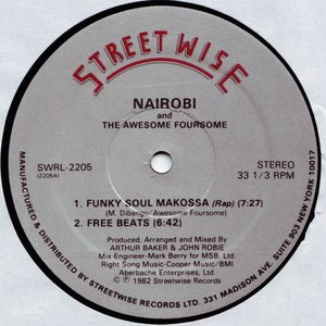 Image for 'NAIROBI & THE AWESOME FOURSOME'