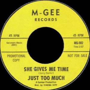 Image for 'Just Too Much'