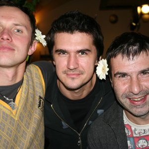 Image for 'Евгений Гришковец, Группа Бигуди И Ренарс Кауперс'