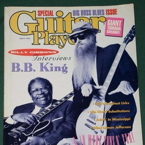 Image for 'B.B. King & Billy F. Gibbons'