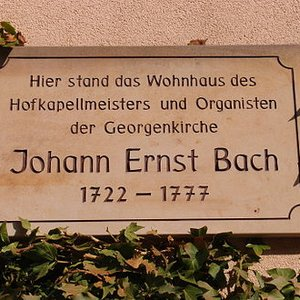 Image for 'Johann Ernst Bach'