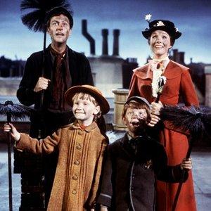 Image for 'Dick Van Dyke, Julie Andrews, Karen Dotrice & Matthew Garber'