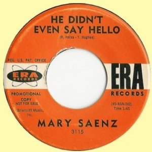 Image for 'Mary Saenz'