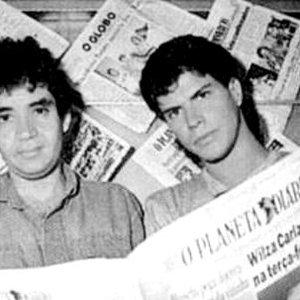 Imagem de 'Renato Russo com Paulo Ricardo'