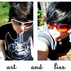 Image for 'art and lies'