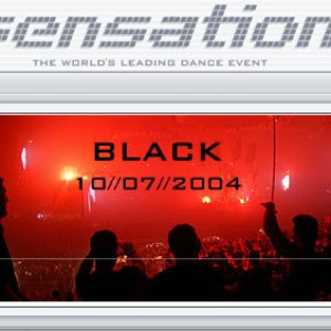 Image for 'Sensation Black 2004'