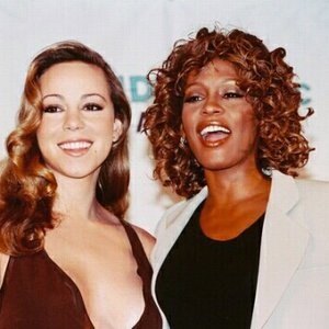 """Mariah Carey and Whitney Houston""的封面"
