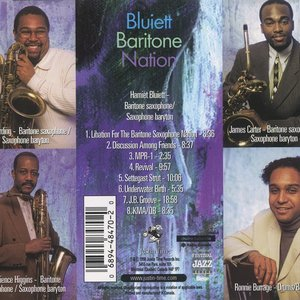 Image for 'Bluiett Baritone Nation'
